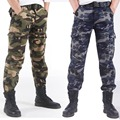 Calças de inverno Quente de Lã Grossa para Os Homens Calças Exército Carga Calças de Camuflagem Militar Calças Táticas Homem Trabalho Pista Pant