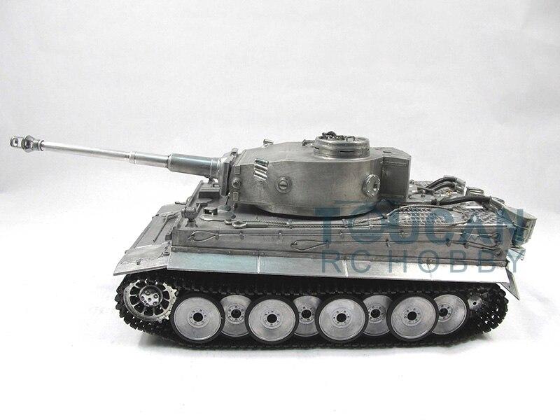 100% Металл Мату 1/16 тигр я RC РТР Танк модель инфракрасные баррель отдачи металла Цвет 1220