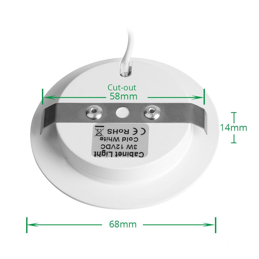 Luces de LED debajo del gabinete Luces de clóset 12 V 3 W Conexión - Iluminación interior - foto 3