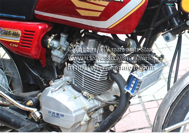 Oil Cooler radiator Curved beam Bike Dirt Pit Bike Monkey Racing Motorcyle High performance refires accessories Kayo BSE modified motorcycle accessories refires horn trolley belt oil pump cnc general horn refires