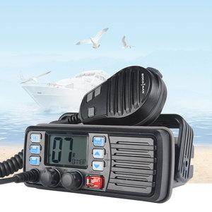 Image 2 - 25 واط عالية الطاقة VHF البحرية الفرقة اسلكية تخاطب موبايل قارب راديو مقاوم للماء 2 طريقة راديو جهاز الإرسال والاستقبال المحمول RS 507M