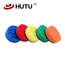 цена на 3 Inch Hexagon Polishing foam Pad Car Polishing and Buffing Sponge Pad Kit for car polisher