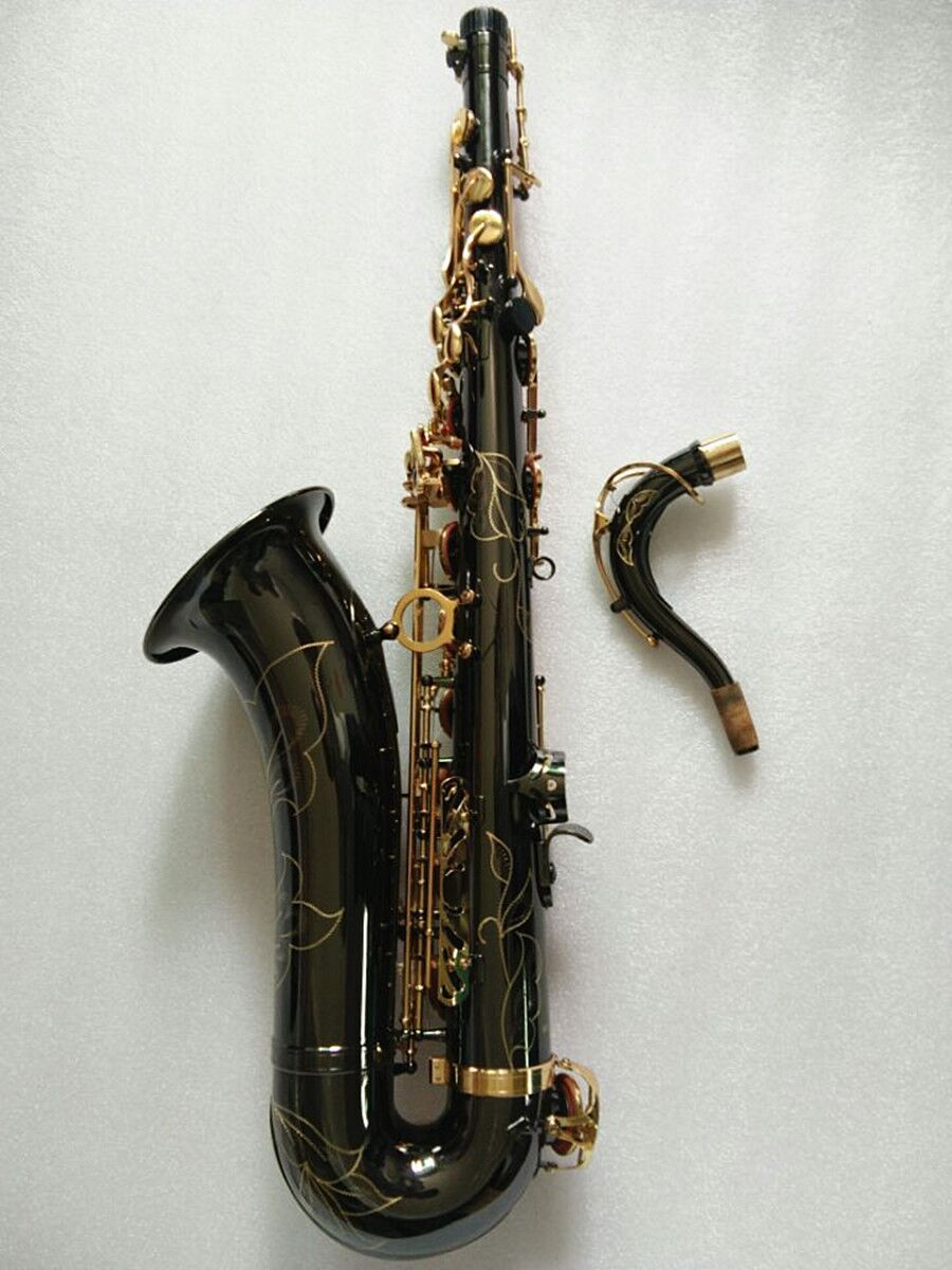 Tenor Saxophone Instruments Reference Drop B Saxophone Black Nickel Gold Tenor Surface Sax Musical Instrument high grade tenor saxophone instrumentnew 802 model b tenor sax instruments wind tube black nickel gold key saxophone