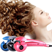 Automatic Steam Spray Hair Curler Ceramic Wave Hair Care Styling Tools Magic Curling Iron Hair Curl Styler Stick EU Plug#