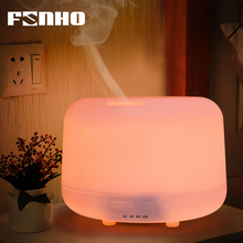 FUNHO Ultrasonic Aromatherapy Humidifier Essential Oil Diffuser Air for Home Mist Maker Aroma Diffuser Fogger LED Light 300ML 300ml led ultrasonic air aroma essential oil diffuser humidifier aromatherapy atomizers mist humidification for home gifts