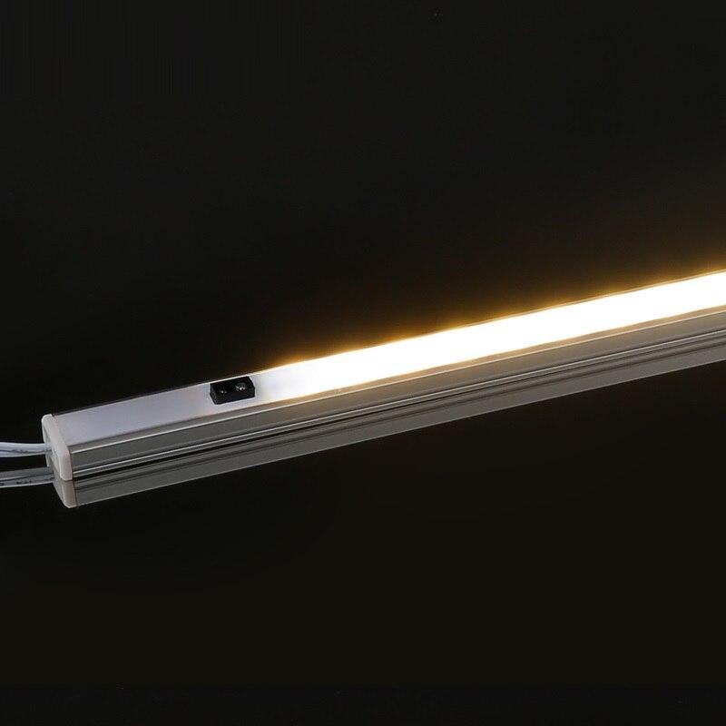 Сенсор затемнения света светодиодный бар лампы ультратонких Кабинета лампы светодиодный ночник 6 Вт 11 Вт DC12V Светодиодные ленты DC Разъем 30 с...