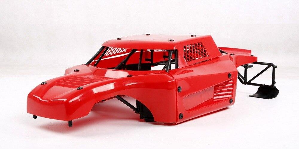 Carro rc anti acidente de corpo de náilon escudo rolo gaiola kit anti wear capa do corpo do carro para losi 5ive t lt km x2