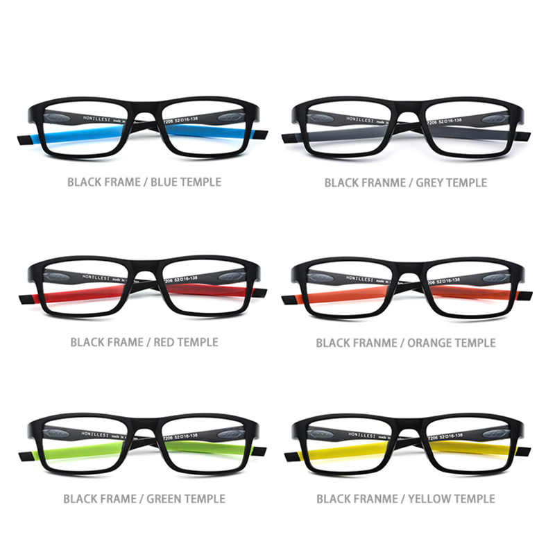 b9c579010 ... TR90 Sports Optical Prescription Glasses Frame Men Square Basketball Eyewear  Spectacles 2018 Hot Male Myopia Outdoor ...