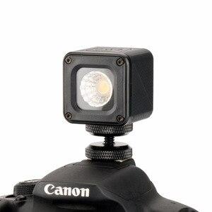 Image 2 - Ulanzi L1 مصباح فيديو ليد مضاد للماء على الكاميرا مصباح إضاءة خافت للضوء لطائرة DJI Yuneec طائرة بدون طيار DJI osor Pocket DSLRs Gopro