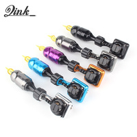 QINK New Shader and Liner Rotary Tattoo Machine Japan Hollow cup Motor Permanent Makeup Tools SUpply