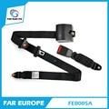 FEB005A Retractable Universal del Cinturón de Seguridad Cinturón de Seguridad de Tres Puntos de Asiento de Coche Bloqueo Automático Para Todos Los Coches de Color Negro