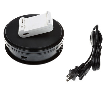 15CM Jewelry Model show camera photography camera Electric Motorized Rotating turntable booth display Stand table turntable