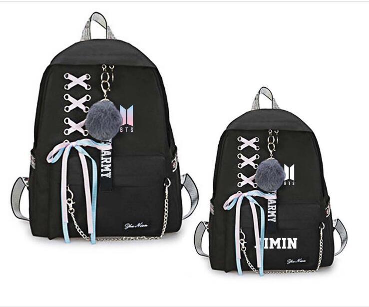 Luggage & Bags Men's Bags New Bts Bangtan Boys Love Yourself Answer Jungkook Jimin Same Students Cool Shopping Travel Bag Backpack Harajuku Canvas Bag