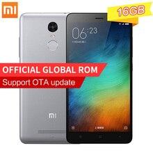 """Global Versión Original del Xiaomi Redmi Nota 3 Pro Smartphone 2 GB RAM 16 GB ROM Snapdragon 650 5.5 """"FHD Cámara de 16.0MP IDENTIFICACIÓN de Huellas Dactilares"""