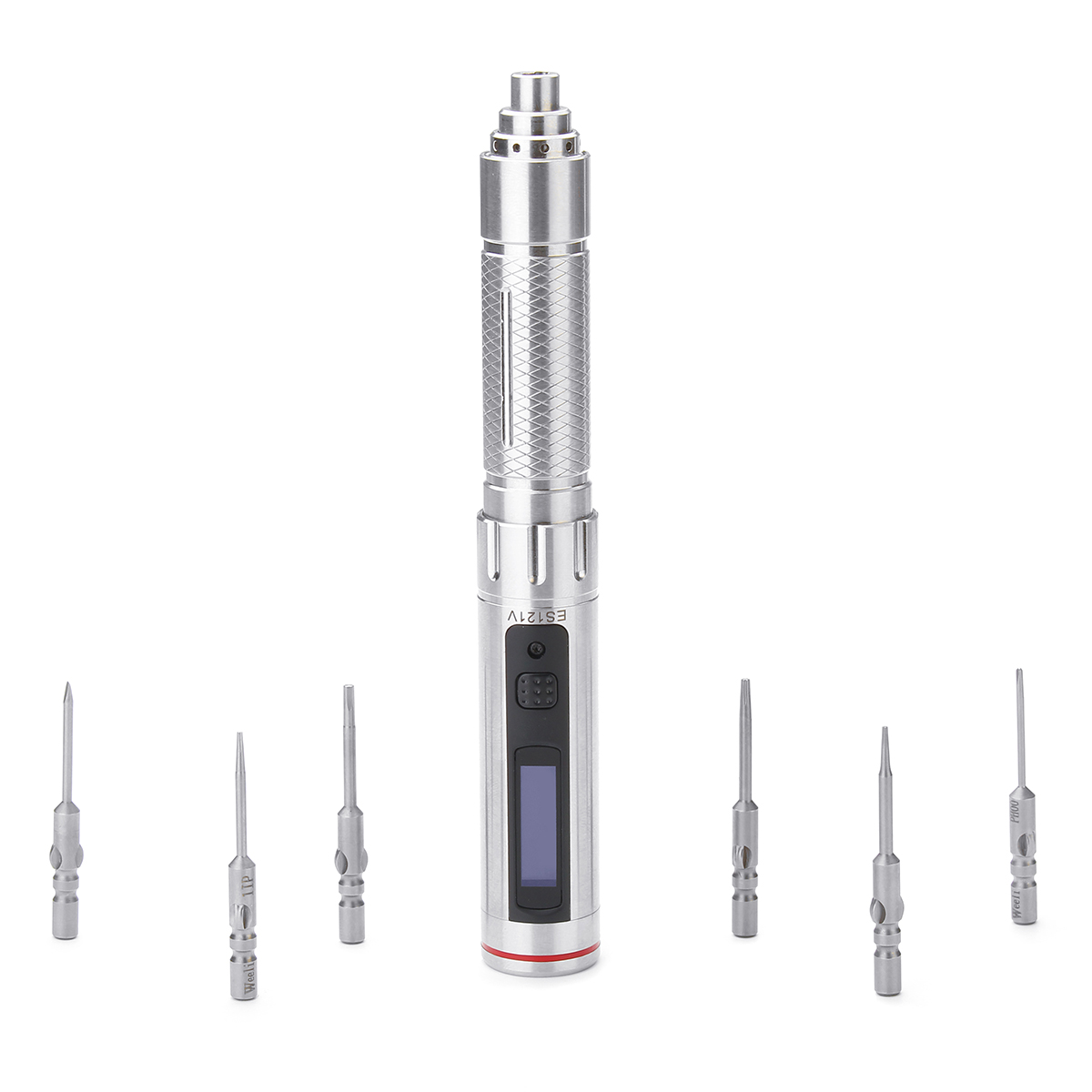 ES121V Mini Precision Cordless Electric Screwdriver Smart Motion Control Power Screwdriver Set Built-in STM32 Chip OLED UpgradeES121V Mini Precision Cordless Electric Screwdriver Smart Motion Control Power Screwdriver Set Built-in STM32 Chip OLED Upgrade