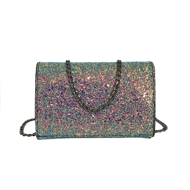 8cec70d538 MUQGEW 2018 Fashion women s handbags Girl Leather Crossbody Shoulder Bag  with Bling Sequins bolsos de mujer a bag sacoche femme