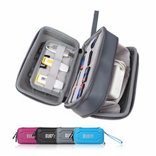 Top Quality Double Layers Shockproof Splash Resistant Hard Disk USB Flash Disk Memory Card Digital Accessories Protection Bag