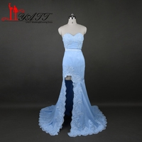 Cheap Bridesmaid Dress Long Mermaid 2017 Real Photos Wedding Prom Party Gowns Plus Size Robe Courte Bridesmaid Dresses LY494