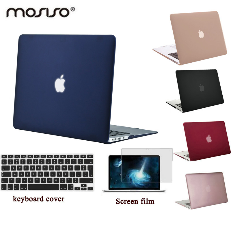 MOSISO for Macbook Retina Pro 13 Hard Cover Case Crystal Clear Matte Plastic Laptop Shell for Macbook Air 13 inch+Keyboard Cover все цены