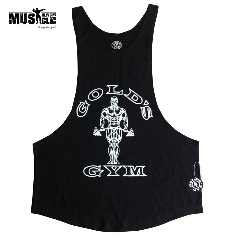 Gymwear Muscle Shirt Bodybuilding and Fitness Vest Men Bodybuilding Tank Top Fitness Tanks Sleeveless suit Cotton Plus 2XL
