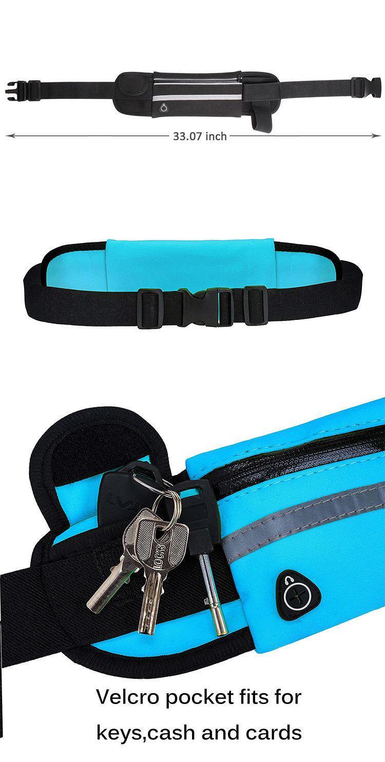 HTB1iii3dEKF3KVjSZFEq6xExFXaf - New Outdoor sports pockets Unisex Anti-theft mobile phone running belt waterproof men and women tactical invisible running bags