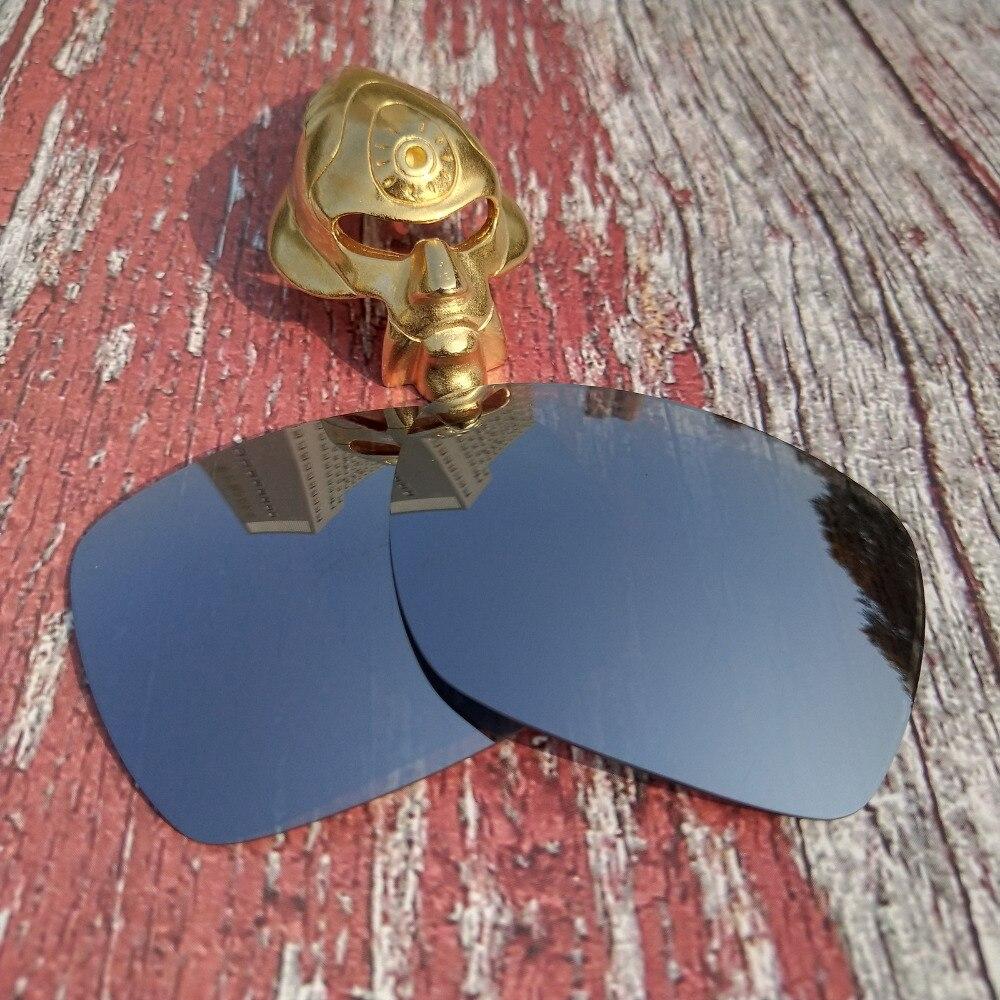 Wholesale Glintbay 100% Precise-Fit Polarized Replacement  Lenses For Oakley Deviation Sunglass - Metallic Silver Mirror