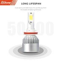CROSS TIGER H11 Pair Of Car LED Headlight