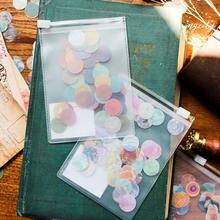 60 цветов наклейка с отверстиями для ремонта бумаги