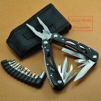 Ferramentas de alta qualidade de mão faca ferramenta multifuncional combinação alicate dobráveis combinação alicate para Outdoor Survival + Screw Set