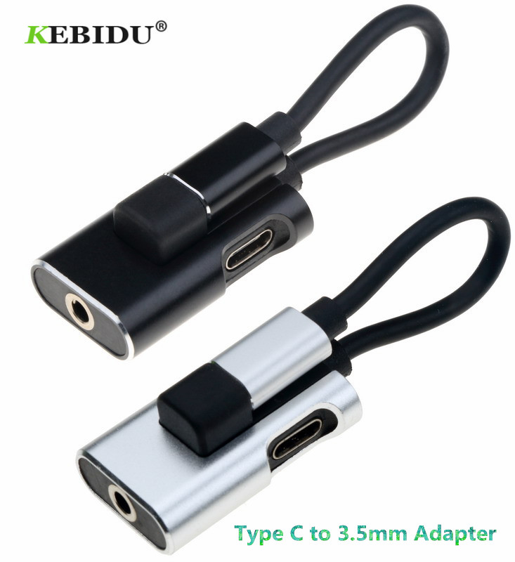 Computer & Office Whole Sale 1pc Usb Type C Audio Cable To 2 In 1 Type-c 3.5mm Jack Earphone Adapter Converter Receiver For Audio Splitter 2018 Customers First