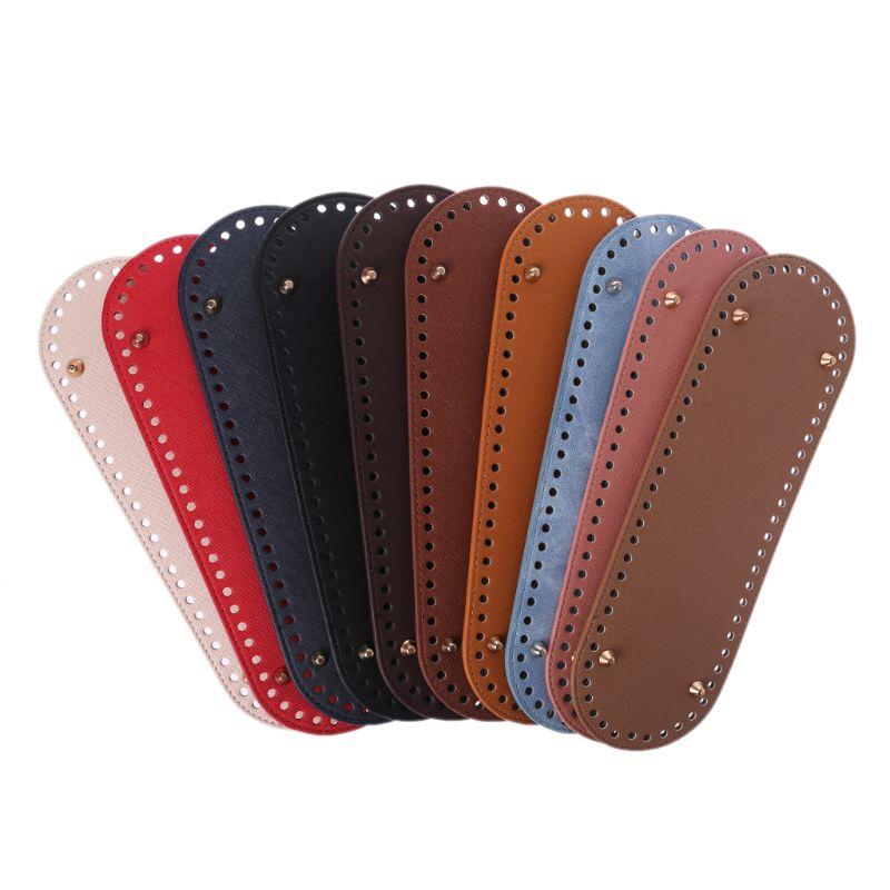 30x10cm Bag Bottom Shaper Bag Cushion Pad For Shoulder Handbag Making DIY Purse Accessories Oval Bottom For Knitting Bag KZBT013