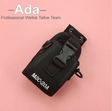 2016 MSC-20A Holder Pouch Case For Motorola Kenwood Walkie Talkie TWO Way Radio Black BAOFENG UV-5R UV82 UV8D UV6 GT-3