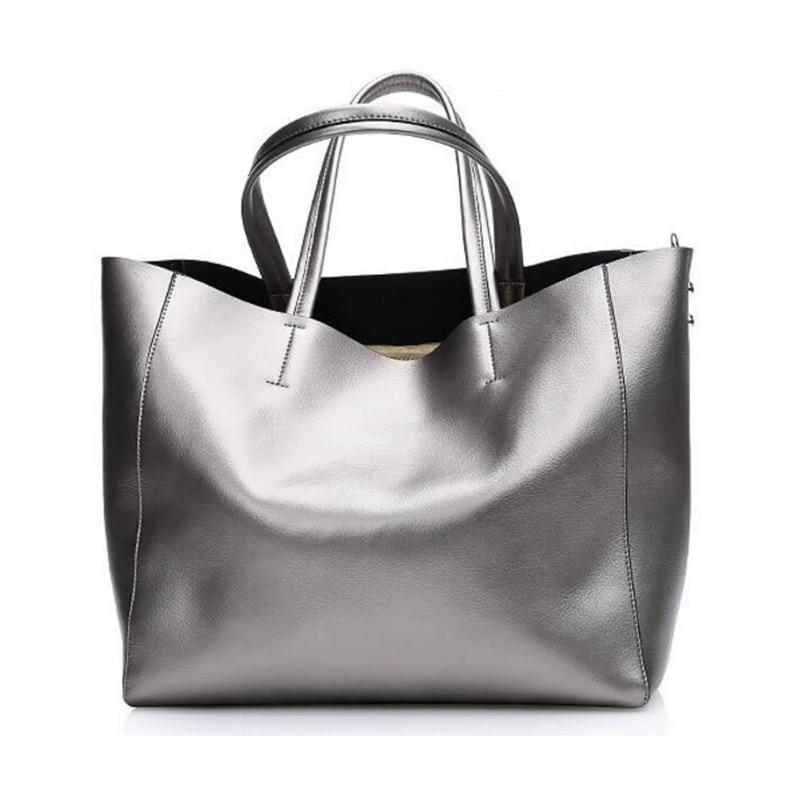 ФОТО Z50 High Quality Women Genuine Leather Bags Women Real Leather Handbags Large Shoulder Bag Designer Vintage Bag Bolsas Femininas