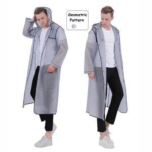 Image 4 - Dorosły mężczyzna kobiet długi gruby płaszcz przeciwdeszczowy uniwersalny płaszcz przeciwdeszczowy płaszcz wodoodporny piesze wycieczki płaszcz przeciwdeszczowy z kapturem darmowa wysyłka