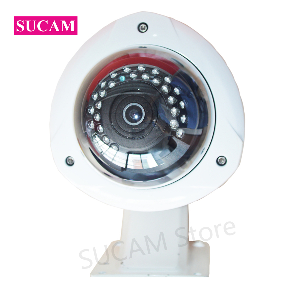 SUCAM Wide Angle 5MP AHD Security Camera Outdoor 1.7mm 180 Degrees Fisheye Lens Night Vision Waterproof CCTV Camera with Bracket sucam wide angle 5mp ahd security camera outdoor 1 7mm 180 degrees fisheye lens night vision waterproof cctv camera with bracket