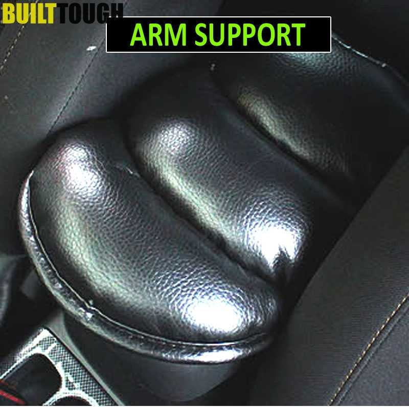 Car Armrest Console Pad Support Cover For Kia Rio Cerato Soul Forte Hyundai Solaris 2 3 Ford Focus Cruze Aveo Juke Accessories