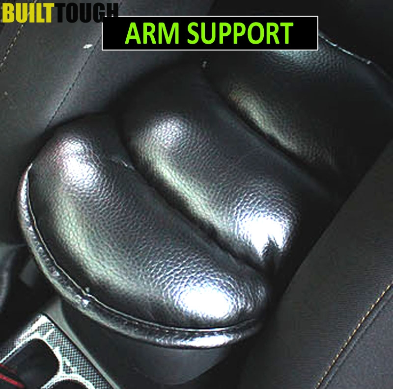 Seat Supports Interior Accessories High Quality Leather Leg Cushion Knee Pad Car Door Arm Pad Interior Car Accessories For Kia Forte
