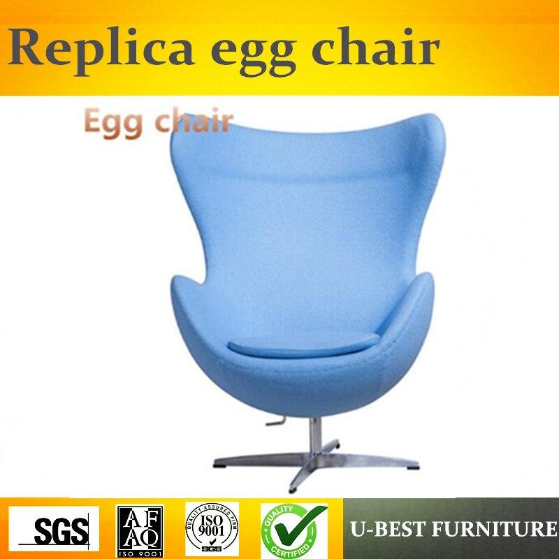 U лучшие реплики дизайнер Мебель в форме яйца, Роскошный кашемир подкладке для взрослых Размеры кресло яйцо
