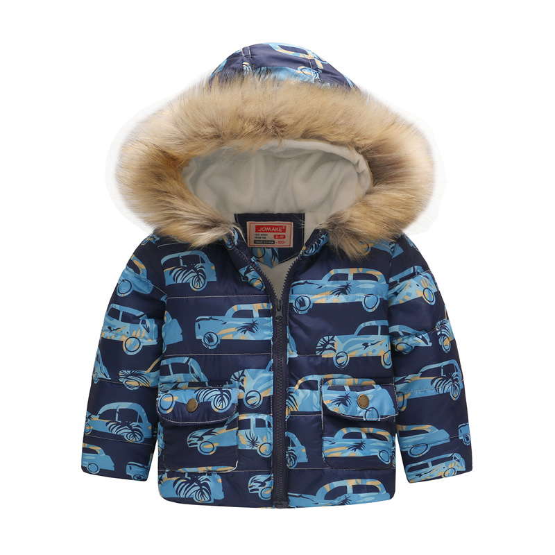 Outerwear & Coats 1-5y Cartoon Childrens Winter Jackets Kids Clothing Down Coat Baby Jacket For Girls Parka Outerwear Hoodies Boy Fashion Coat Soft And Antislippery