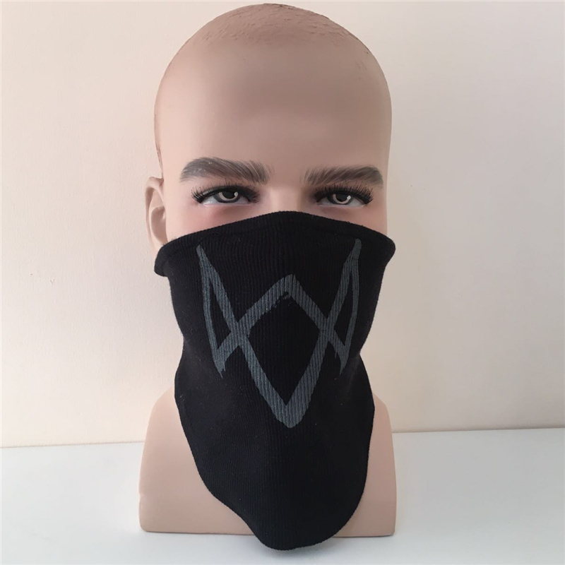 Watch Dogs 2 Mask Marcus Holloway Fiesta de Halloween Máscara Llave - Disfraces - foto 2