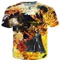 2015 лето мужчины / женщин дракон г Goku в . с . дарт VaderAnakin звездные войны футболки 3D графический принт прикольные майка футболки