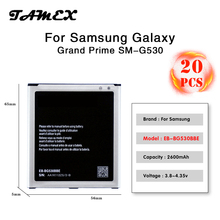 Top quality Replacement Battery For Samsung Galaxy Grand Prime J3 J5 EB-BG530BBE 2600MAH G530 G530F G530FZ G530Y batteria Akku
