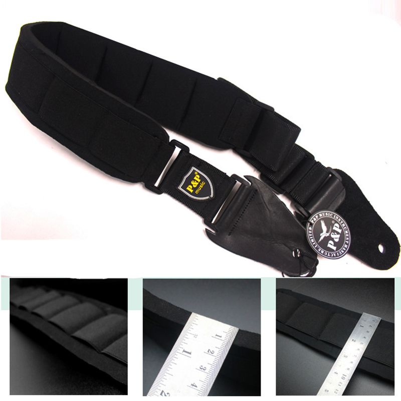 High-quality genuine leather Guitar Strap for Electric /Acoustic/Bass Guitar Belt Stringed Instruments Guitar Parts & Accessorie two way regulating lever acoustic classical electric guitar neck truss rod adjustment core guitar parts