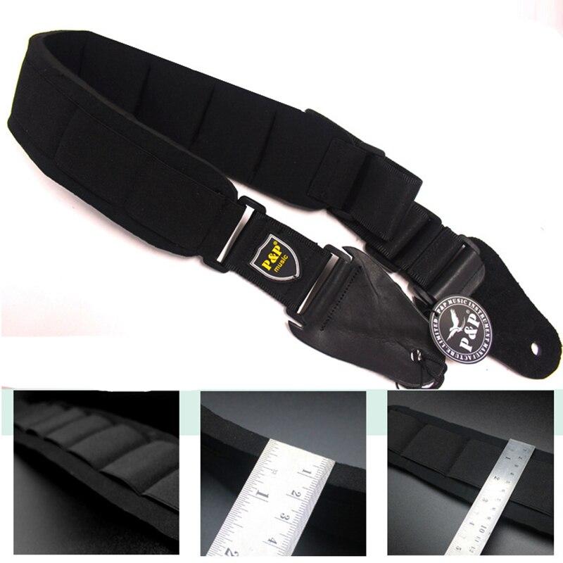 Sangle de guitare en cuir véritable de haute qualité pour guitare électrique/acoustique/basse ceinture Instruments à cordes pièces de guitare et accessoires