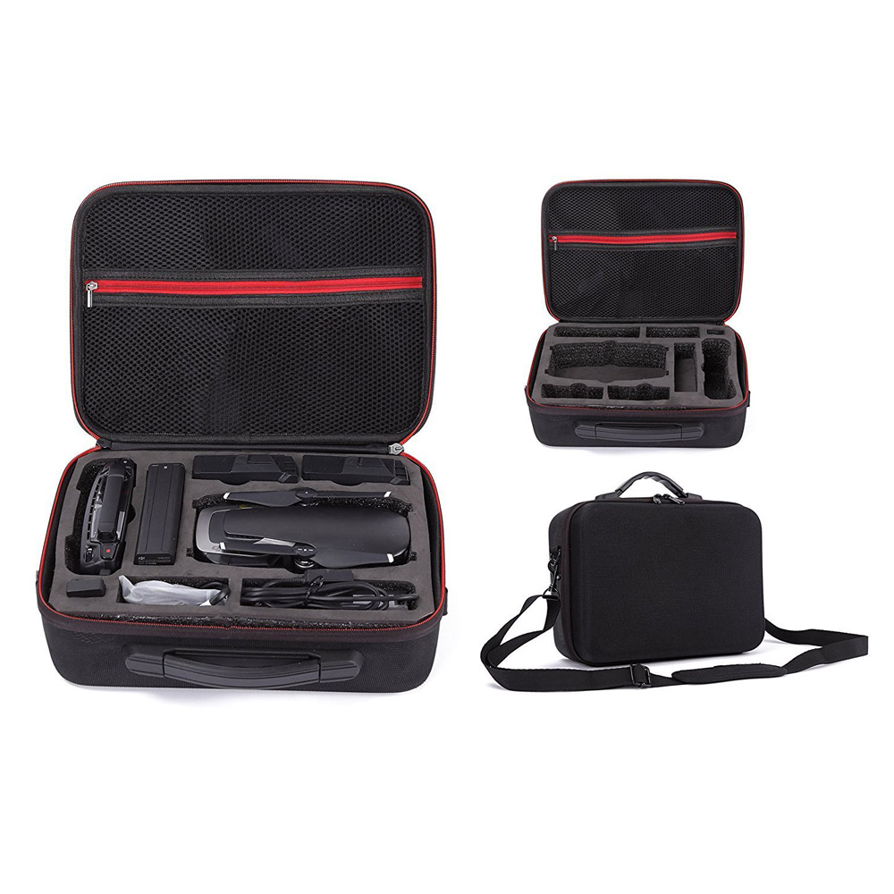DJI Mavic Air Case, Waterproof Portable Travel Backpack Handheld Carrying Case for DJI Mavic Air and All Accessories сумка для квадрокоптера dji travel part15 для dji mavic air