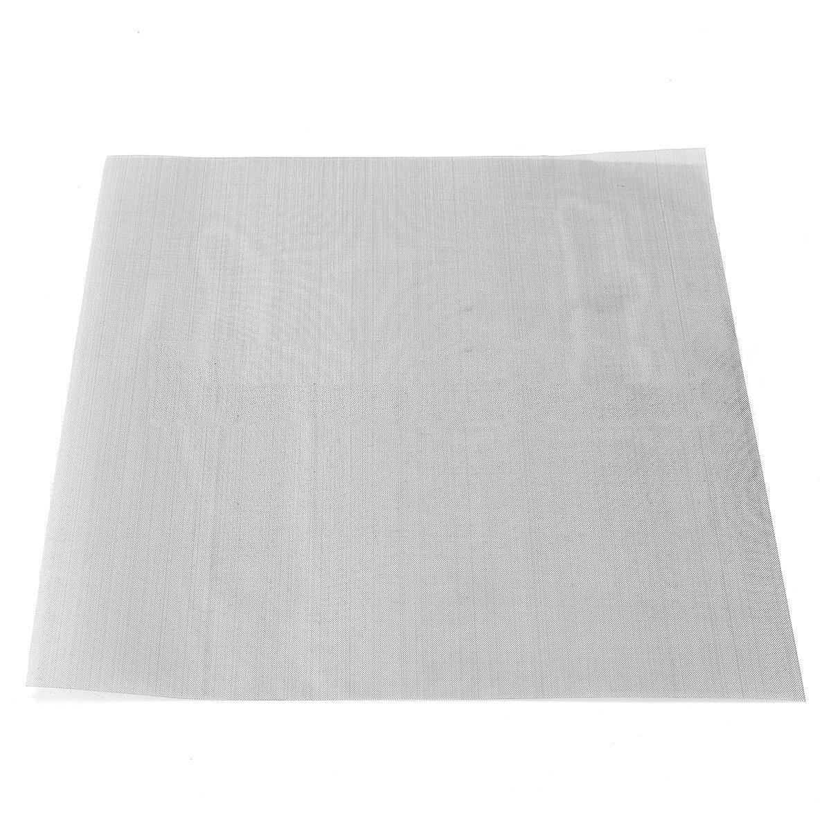 1pc Non-toxic 304 Stainless Steel Woven Wire 60 Mesh Filtration Cloth Screen 30x30cm For Cooking Nets 1pc 60 mesh woven wire cloth screen filtration 304 stainless steel 30x30cm with high temperature resistance