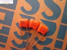 2017 Real Orange Электролитический Конденсатор Комплект 30 шт. Новый Nissei Cbb Пленочные Конденсаторы 0.0027 мкФ/630 В (2n7 2700pf 272) Бесплатная Доставка