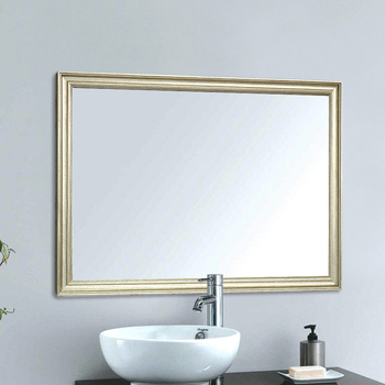Miroirs De Salle De Bains Vintage | A1 Miroir De Salle De Bain Européenne Frontière étroite Maison Tenture Murale Porche Salon Miroir De Maquillage Wx8221449