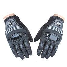 Новый Бренд Дышащей Защитные Перчатки Мотоцикл Мотокросс Гонки Перчатки Мотоцикл Вождения Перчатки Велосипедов Велоспорт Перчатки M-XL