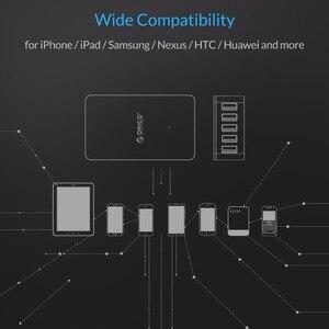 Image 5 - ORICO 5 ports USB chargeur de bureau QC2.0 chargeur rapide 5V2.4A 9V2A 12V1.5A pour iPhone Samsung Huawei tablette